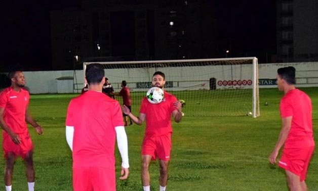 Etoile De Sahel team prepares for Saturday game- Photo courtesy of the Etoile Sportive du Sahel Facebook page