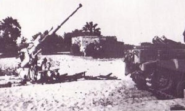 Egyptian surface-to-air during Tripartite Aggression in 1956 - Wikimedia Commons