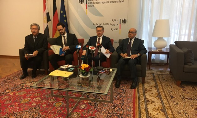 German Ambassador to Cairo Cyrill Nunn during press conference on Wednesday - Photo by Nourhan Magdi/Egypt Today