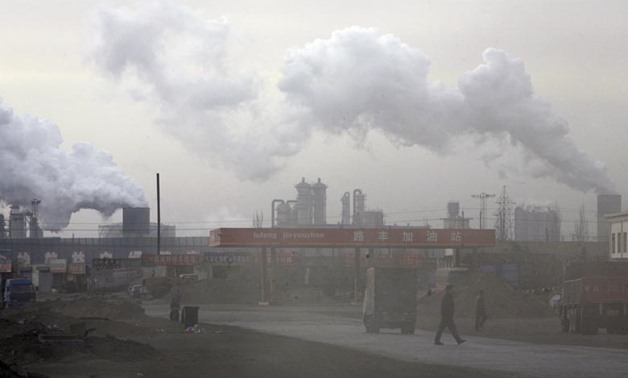 China is the largest emitter of carbon dioxide in the world, according to the most recent data from the Global Carbon Project. China emits about 10,357 million metric tons per year. REUTERS/Jason Lee