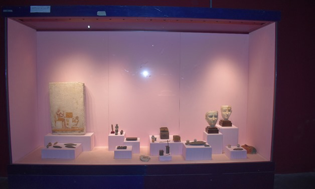A display in Hurghada museum - ET