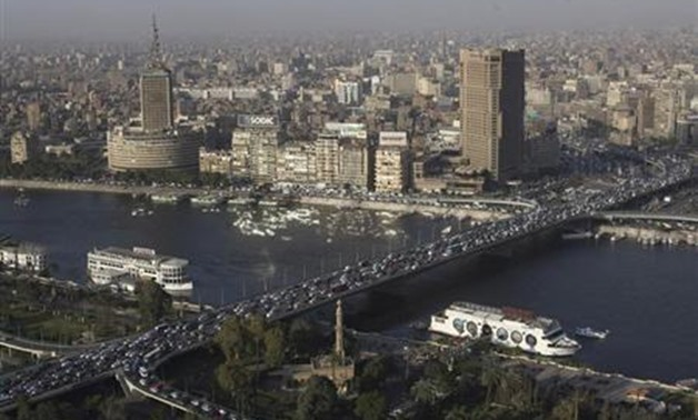Boats float on the river Nile in Cairo- REUTERS-Asmaa Waguih
