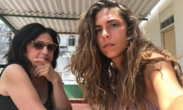 File - Marianne Khoury and her daughter.
