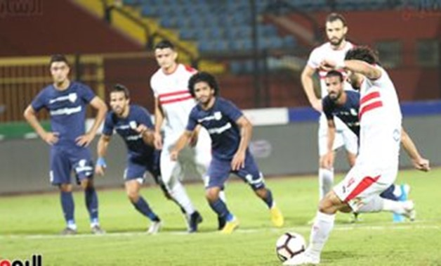 Zamalek vs Enppi- FILE