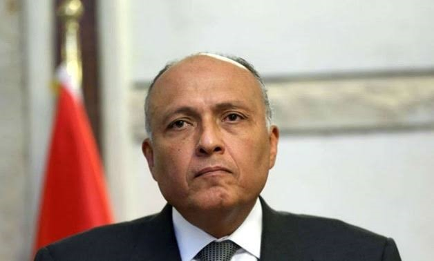 FILE - Sameh Shoukry
