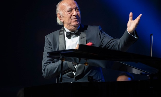 Omar Khairat in one of his concerts- File photo