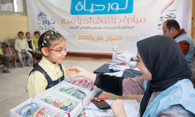 As many as 450,000 pupils in the primary stage have been tested, as part of presidential initiative, Nour Hayah - Press photo