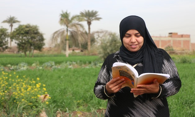 A female adult learner enrolled at one of the General Authority for Adult Education programs in El-Badrasheen – Giza Governorate - Egypt Today, Yasmine Hassan