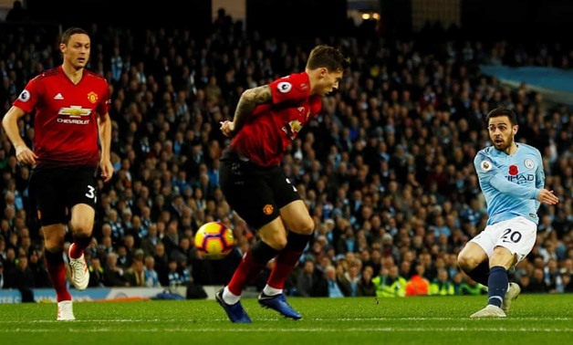 File- Manchester City vs Manchester United