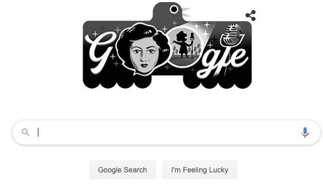 Afifa Iskandar's Google doodle - Google