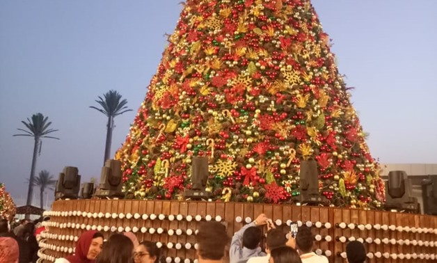 File - Hundreds of youth participating in the third edition of the World Youth Forum wrote down their dreams and ambitions for the coming year on the new year tree.