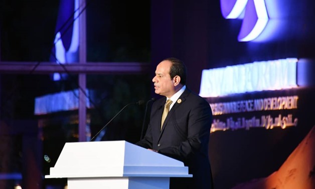 Sisi: Aswan Forum helped provide solutions to African challenges