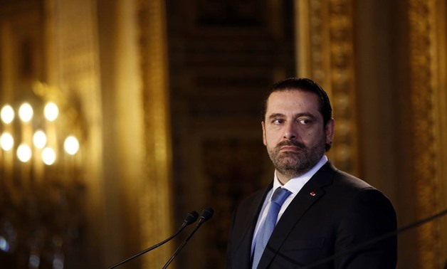 Lebanon's Prime Minister Saad Hariri attended a news conference in Paris on Dec. 8. PHOTO: THIBAULT CAMUS/ASSOCIATED PRESS