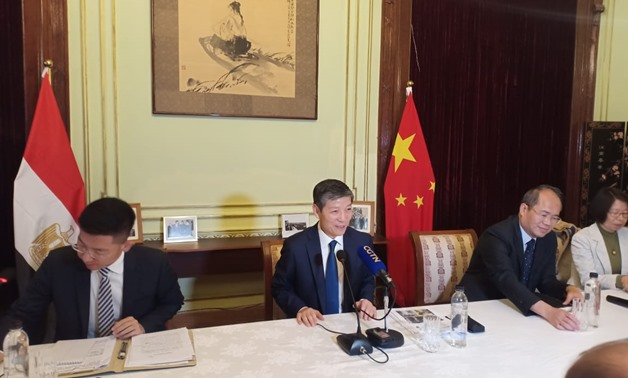Chinese Ambassador to Cairo Liao Liqiang in a press conference held on December 23, 2019 to comment on reports on alleged torture of Uighur Muslims in China. Egypt Today/Rabab Fathy