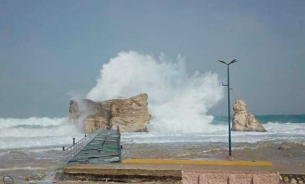 Marsa Matrouh governorate has raised the degree of readiness to the maximum to deal with the effects of the bad weather and the expected heavy rains that will hit the city - Press photo