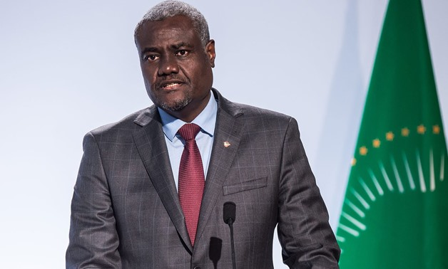 FILE: Chairperson of the African Union Commission, Moussa Faki Mahamat