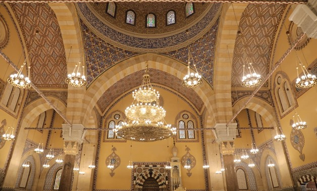 Al-Fateh Mosque after being restored - press photo