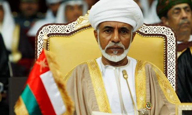 FILE PHOTO: Oman's leader Sultan Qaboos bin Said attends the opening of the Gulf Cooperation Council (GCC) summit in Doha December 3, 2007. REUTERS/Fadi Al-Assaad