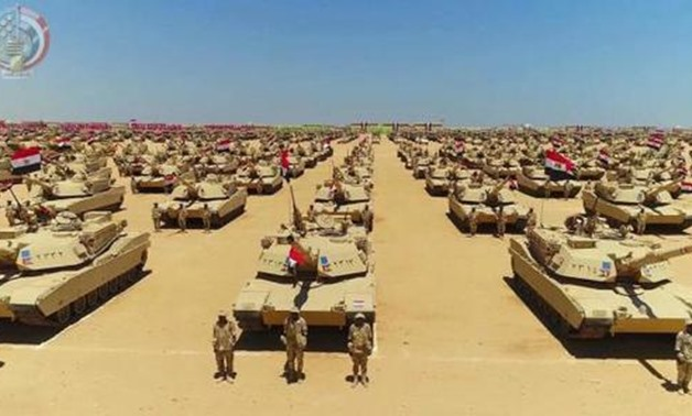 FILE - Egyptian Armed Forces