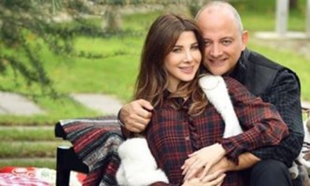 File - Nancy Ajram and Fadi al Hachim.