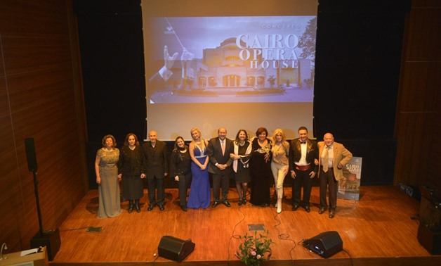 Celebrations of the Khedive Opera House in the Egyptian Academy of Arts in Rome - ET