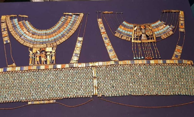 File- GEM has received a collection of 356 artifacts from the Egyptian Museum in Tahrir.