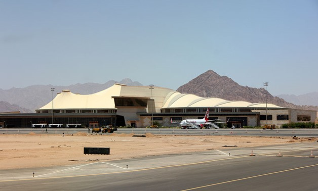 Sharm El-Sheikh International Airport - Wikimedia Commons/Justus Weiss, 2012