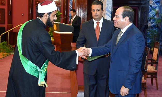 Sisi to attend Azhar conference on religious discourse renewal Monday