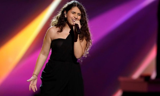 FILE PHOTO: Alessia Cara performs during the 2019 Latin Recording Academy's Person of the Year Gala honoring Colombian musician Juanes at the MGM Grand hotel-casino, in Las Vegas, Nevada, U.S. November 13, 2019. REUTERS/Steve Marcus