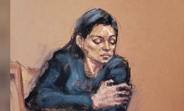 Witness Jessica Mann is questioned by prosecutor Joan Illuzzi-Orbon during film producer Harvey Weinstein's sexual assault trial at New York Criminal Court in the Manhattan borough of New York City, New York, U.S., January 31, 2020 in this courtroom sketc