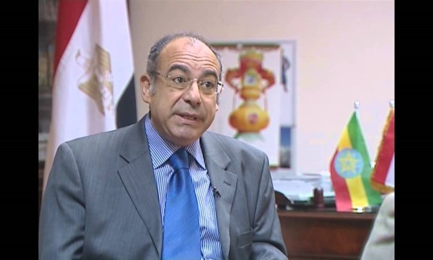 Egypt's Permanent Representative to the United Nations, Ambassador Mohamed Idris - screen shot from YouTube channel