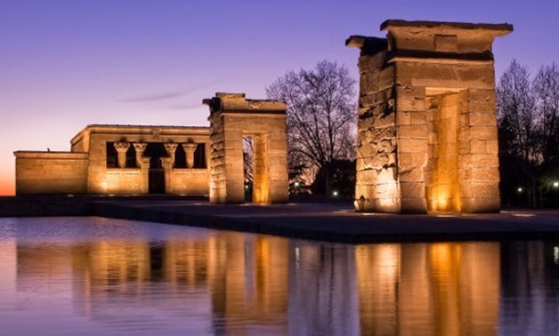Temple of Debod - Wikipedia