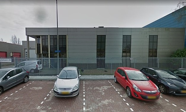 A letter bomb detonated in the postal office of this building in Amsterdam around 8am Wednesday, before a second device exploded a short time later in the city of Kerkrade - Google Street View