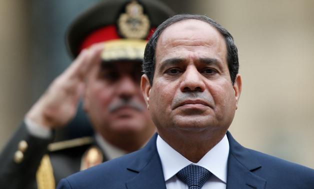 FILE - President Abdel Fattah al-Sisi, Nov. 2014 - REUTERS/Charles Platiau