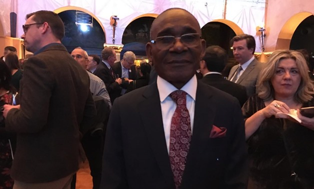 Equatoguinean Minister Nsue Medja on the sidelines of the 3rd Global Ministerial Conference on Road Safety hosted in Stockholm  - Photo by Nourhan Magdi/Egypt Today