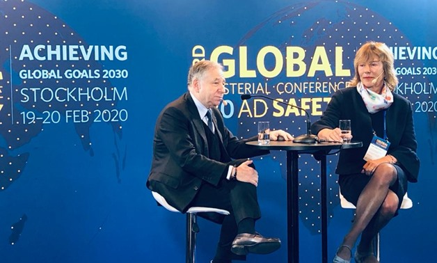 UN's Special Envoy of Road Safety Jean Todt - Photo Courtesy of FIA
