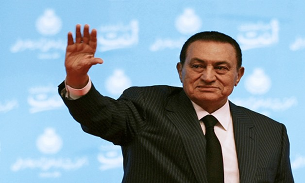 Hosni Mubarak during a session of his entrenched National Democratic Party in 2009 (Photo:Reuters)