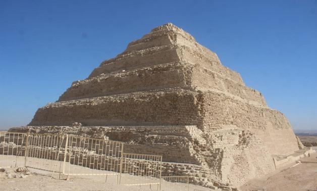 Pyramid of Djoser after restoration - ET