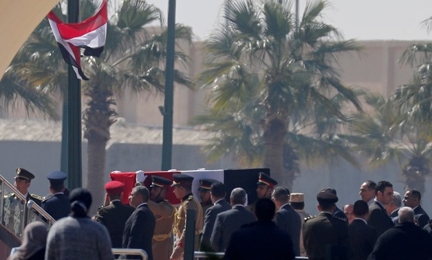 A military funeral is set on Wednesday for former President Hosni Mubarak, who passed away at 91 - Press photo