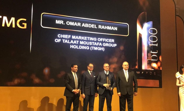 Talaat Moustafa Group (TMG) has won the award of the best role in building cities, residential and tourist societies at bt100 Awards - Egypt Today