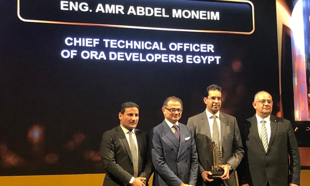 ORA Developments has won the top innovative real estate concept for ZED project  at bt100 Awards- Egypt Today
