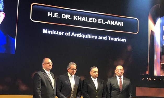 Egyptian Minister of Tourism Khaled Al-Anani on Tuesday was granted an award by leading economics magazine Business Today – Egypt Today
