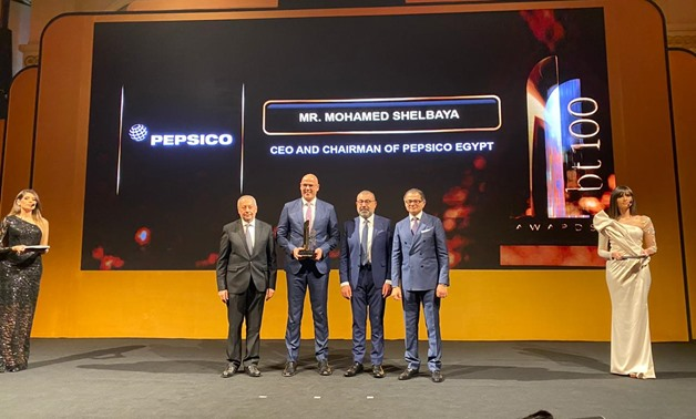 PepsiCo Egypt has won the top sustainable investment award at bt100 Awards -Egypt Today