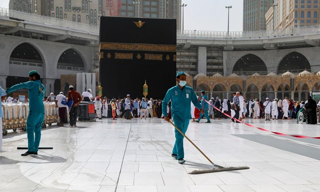 Saudi Arabia on Friday reopened Al-Haram Mosque in the holy city of Mecca and Al-Masjid Al-Nabawi in the holy city of Medina after temporarily closing them for one night for sterilization - Reuters