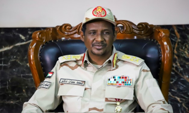 Lieutenant General Mohamed Hamdan Dagalo, Deputy Head of the Sudan Transitional Military Council, attends the signing ceremony of the agreement on peace and ceasefire in Juba, South Sudan October 21, 2019. (Photo: REUTERS)