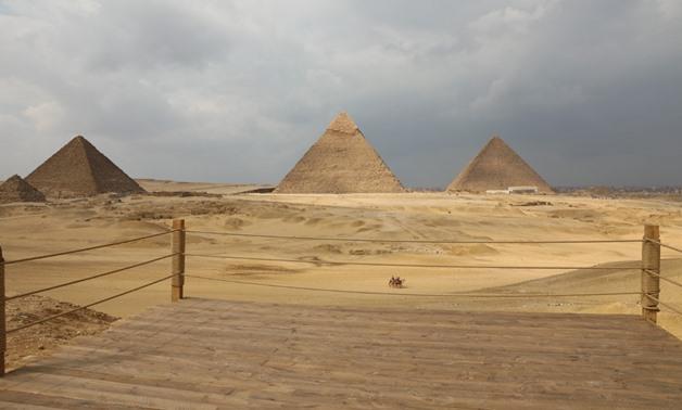 The Pyramids of Giza - ET