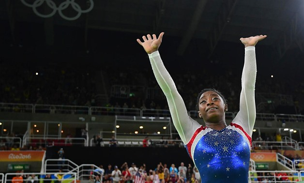 Four-time Olympic gold medallist Simone Biles was to have featured in next month's event. (AFP)