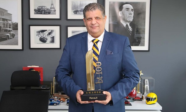 Renault Egypt has won the top sales performance award at bt100 Awards