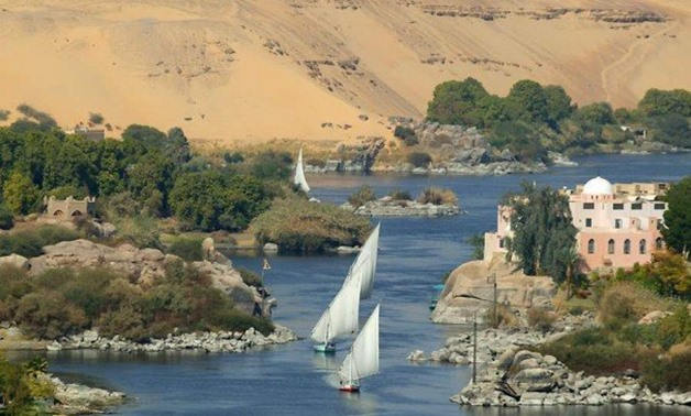 FILE – Feluccas at the Nile River in Aswan, Upper Egypt – Wikimedia Commons/Citadelite