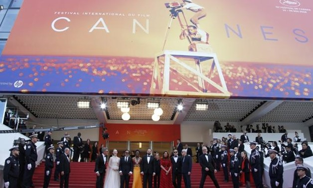 """FILE PHOTO: 72nd Cannes Film Festival - Closing ceremony and screening of the film """"Hors normes"""" (The Specials) out of competition - Red Carpet Arrivals - Cannes, France, May 25, 2019. REUTERS/Jean-Paul Pelissier."""